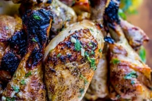 Lemon Tarragon Grilled Chicken