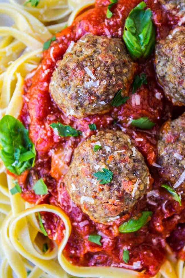 Pepperoni Meatballs from The Food Charlatan