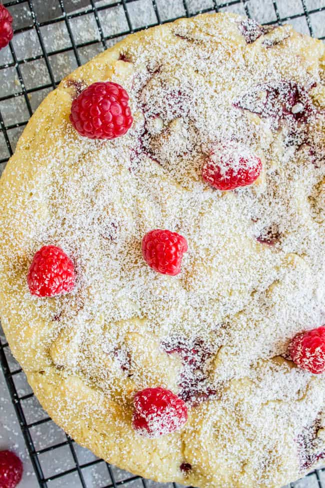 "Raspberry ""Buttermilk"" Cake (Vegan!) from The Food Charlatan"