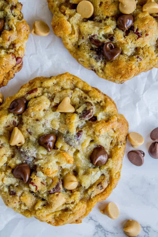 Texas Cowboy Cookies - The Food Charlatan