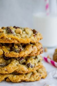 Texas Cowboy Cookies (Cow Chips) from The Food Charlatan