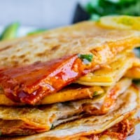 10 Minute Enchilada Quesadillas