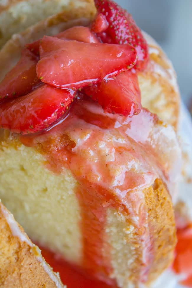 Cream Cheese Pound Cake from The Food Charlatan