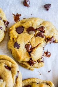 Brown Butter Chocolate Chip Cookies from The Food Charlatan