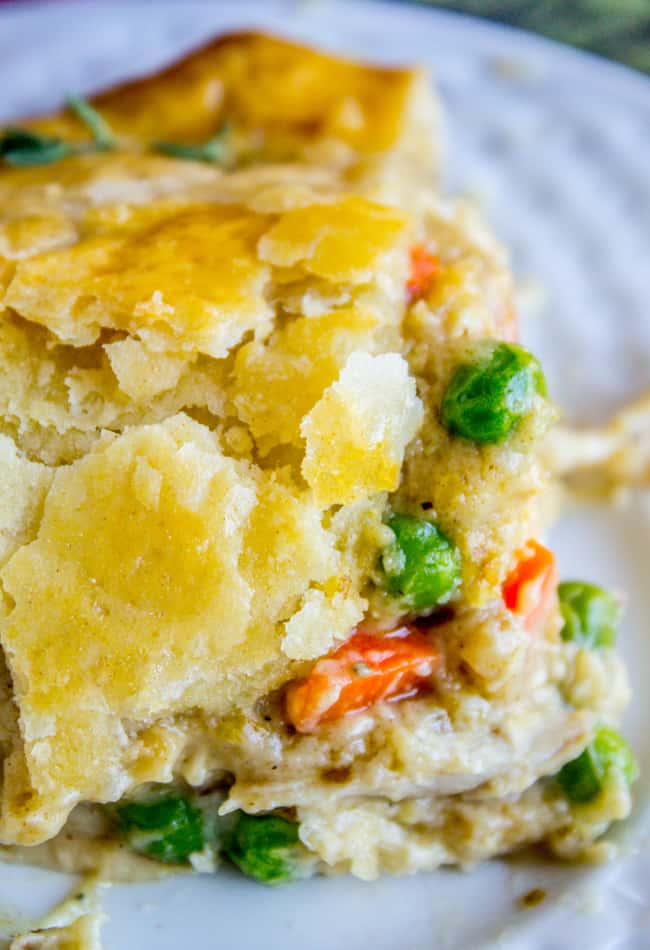 Classic Double Crust Chicken Pot Pie From The Food Charlatan