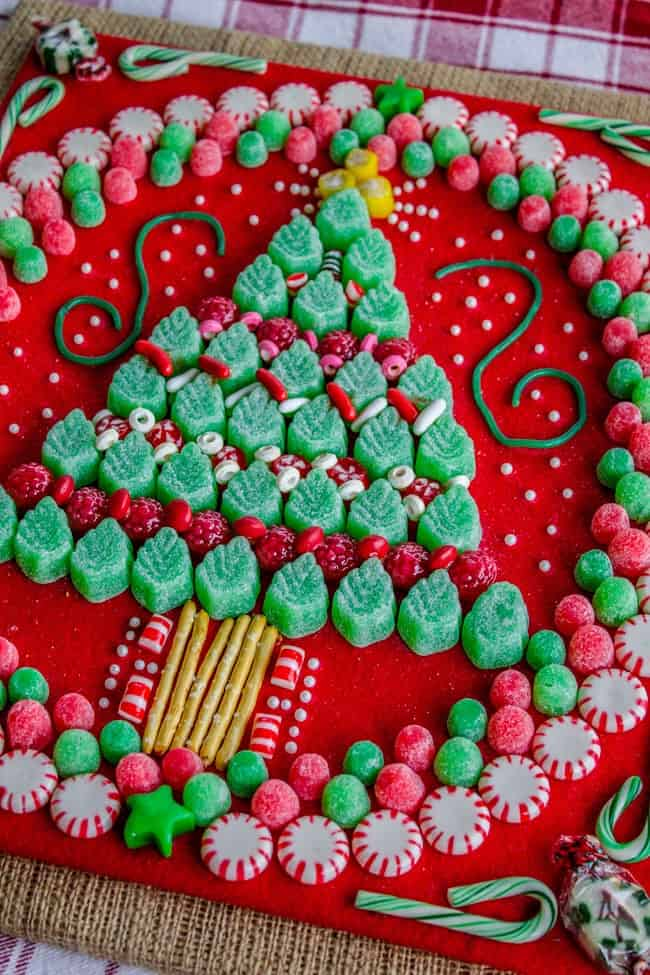Candy Christmas.Candy Christmas Tree Craft