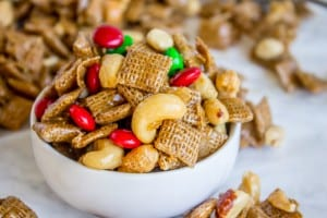 Sticky Sweet-and-Salty Chex Mix (Christmas Crack)