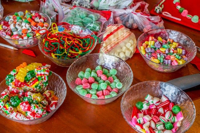 Candy Christmas Tree Craft from The Food Charlatan
