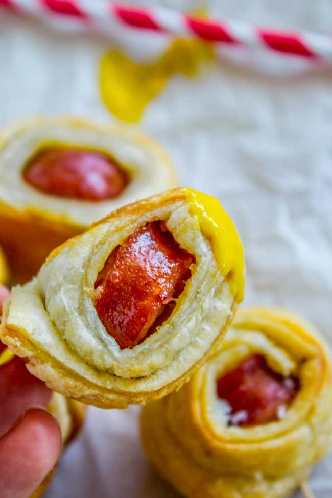 2-Ingredient Kielbasa Puffs (+ YA Novel Giveaway!) from The Food Charlatan