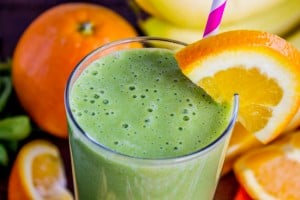 Green Orange Julius Smoothie