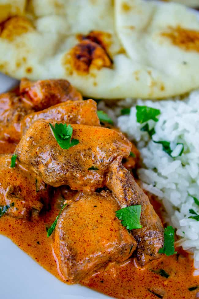 Slow Cooker Chicken Tikka Masala from The Food Charlatan