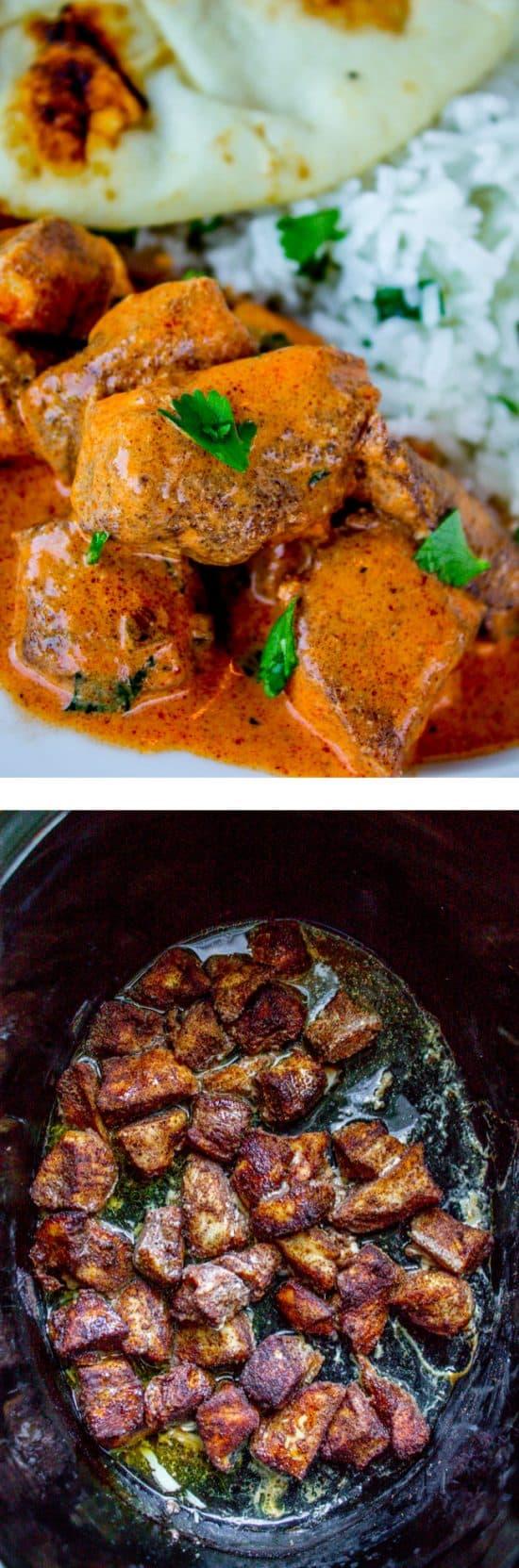 Slow Cooker Chicken Tikka Masala from The Food Charlatan