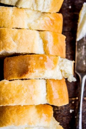 One Hour French Bread from The Food Charlatan