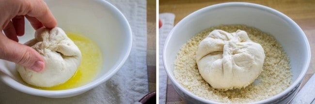 Chicken, Mushroom, and Cream Cheese Stuffed Rolls from The Food Charlatan
