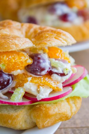 Chicken Salad with Mandarin Oranges from The Food Charlatan