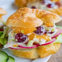 Chicken Salad with Mandarin Oranges