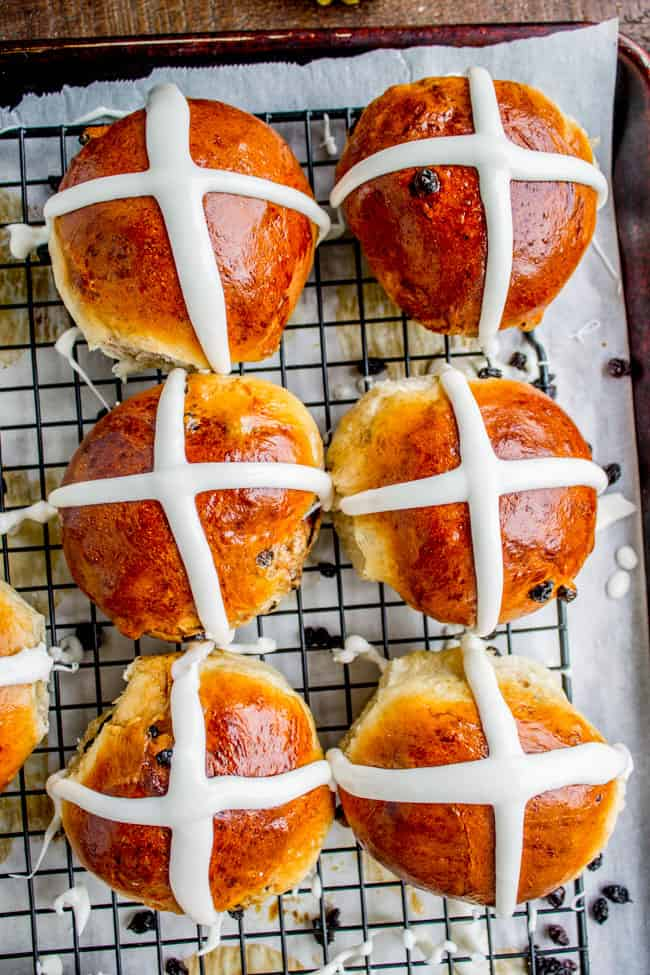 Hot Cross Buns from The Food Charlatan