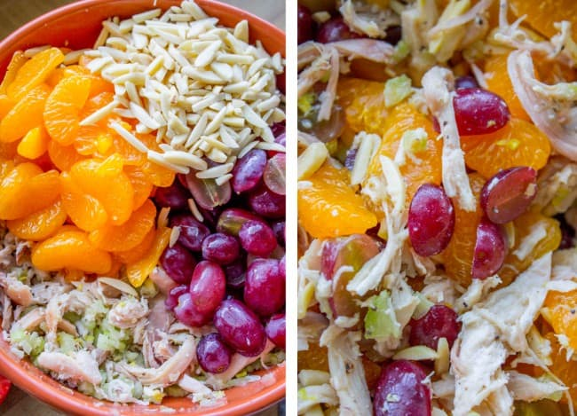 Mom's Chicken Salad with Mandarin Oranges from The Food Charlatan