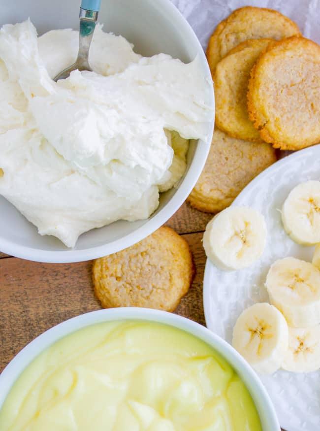 Banana Cream Pie Cookies from The Food Charlatan