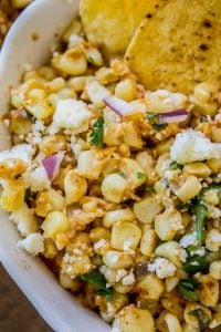 Mexican Street Corn Dip (Elote) from The Food Charlatan