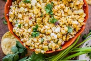 Mexican Street Corn Dip (Elote)