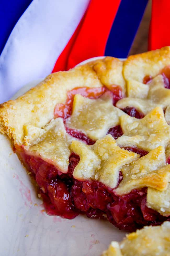 Cherry Pie for 4th of July! from The Food Charlatan