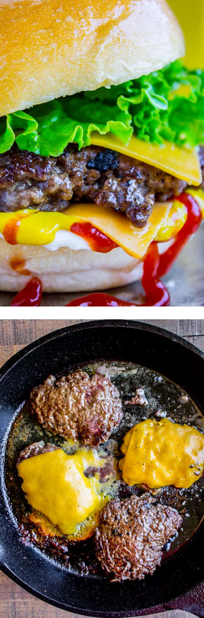 How To Make Smash Burgers (Basically Your New Favorite Hamburger) from The Food Charlatan