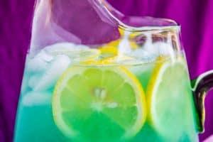 Blue Cotton Candy Lemonade (like at Disneyland!)