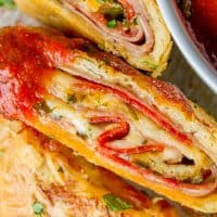 Classic Stromboli Recipe (Easy Dinner or Quick Appetizer!)