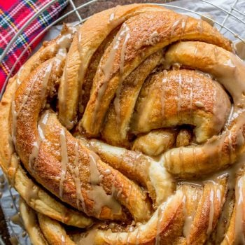 Maple Butter Twist Coffee Cake from The Food Charlatan
