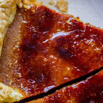 Perfect Crème Brulée Pumpkin Pie