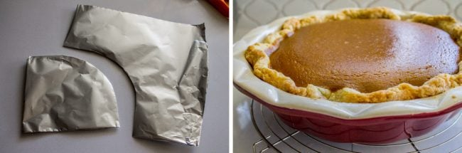 pumpkin Pie crust shield