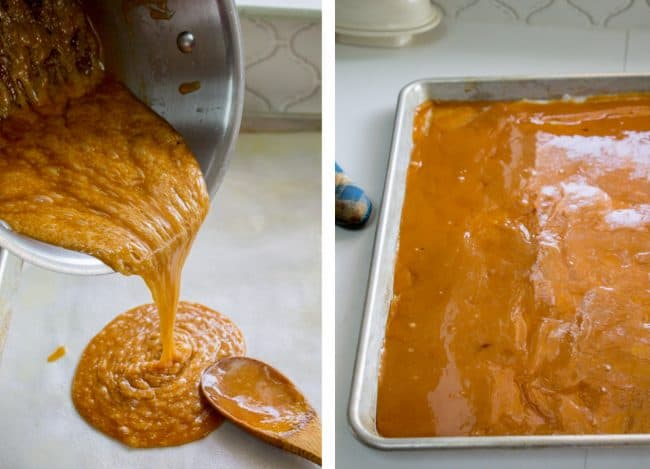 Toffee recipe