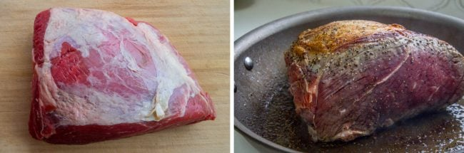 Chuck roast crock pot marbling