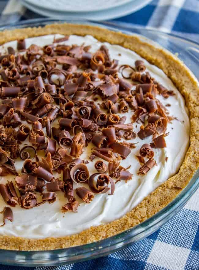 chocolate french silk pie