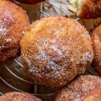 Cinnamon Sugar Dipped Muffins (French Breakfast Puffs)