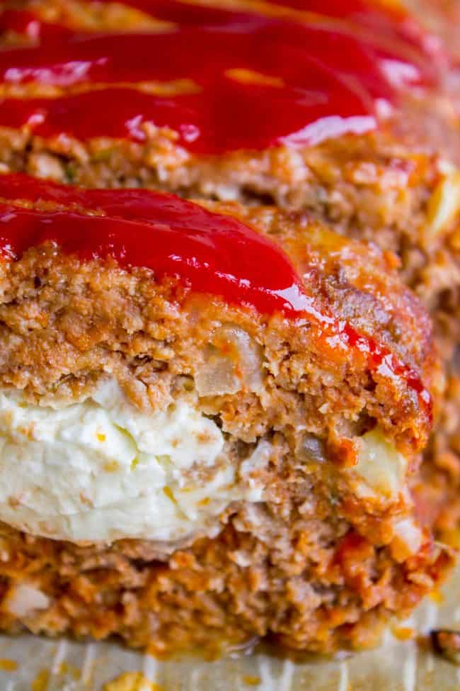 Cream Cheese Stuffed Meatloaf