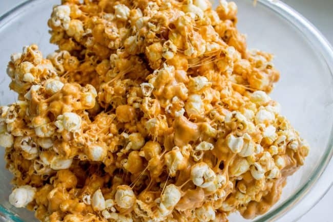how to make popcorn balls in the microwave