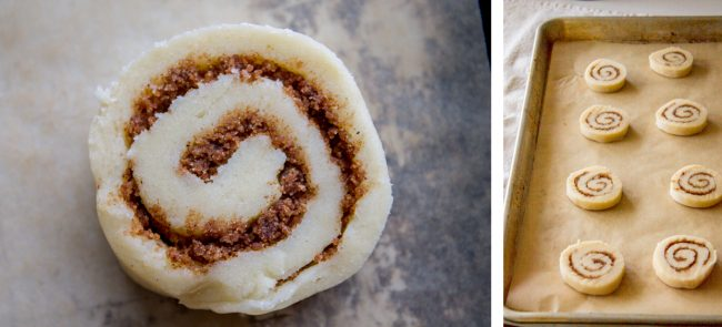 how to bake cinnamon roll sugar cookies