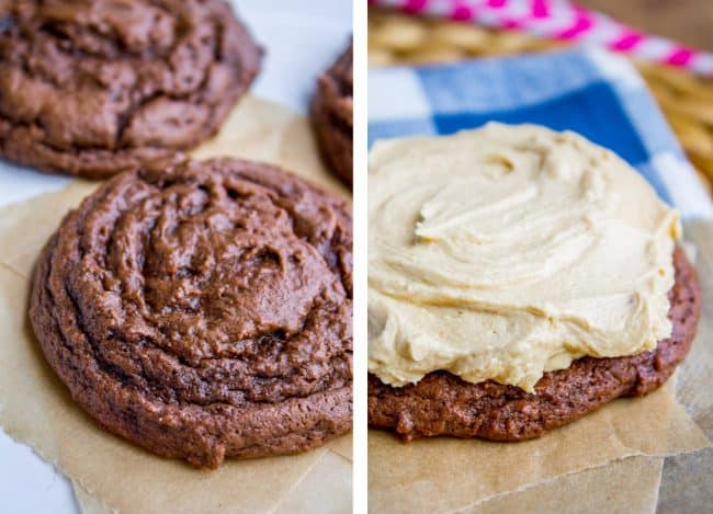 chocolate cookie recipe with peanut butter