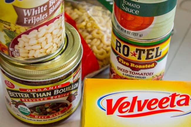 chili mac ingredients