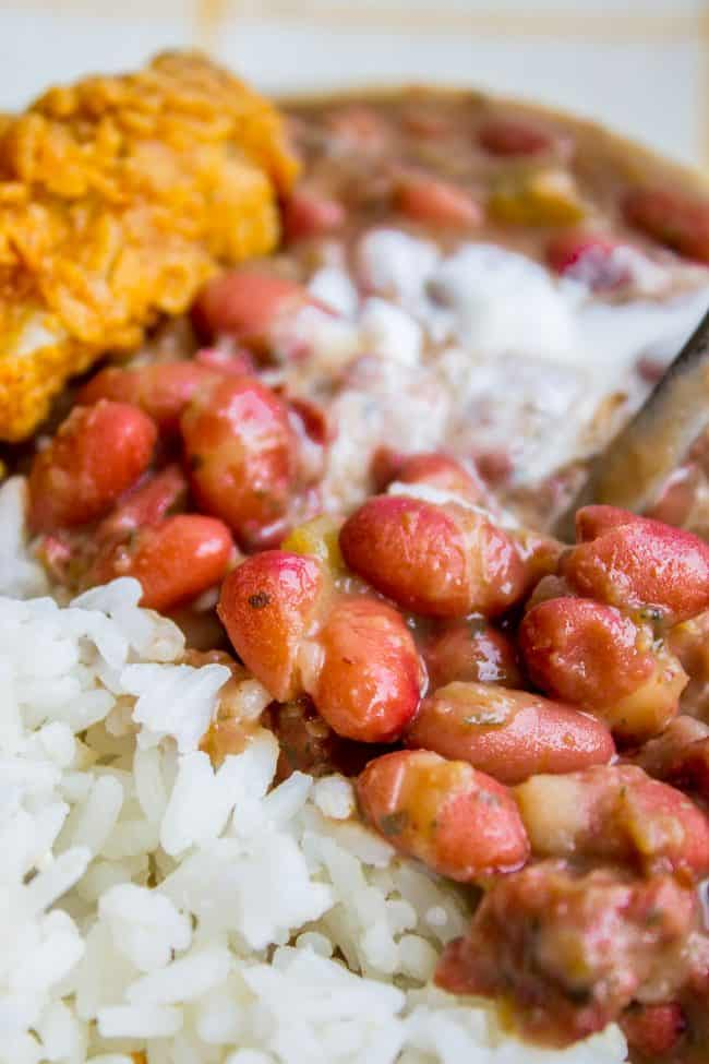 popeyes red beans and rice recipe