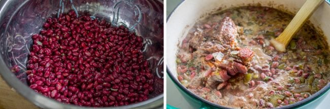 how to make red beans and rice with ham bone