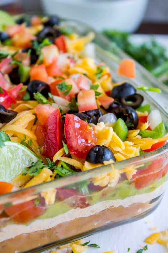 The Best 7 Layer Dip Recipe