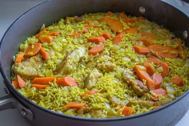 how to make chicken biryani