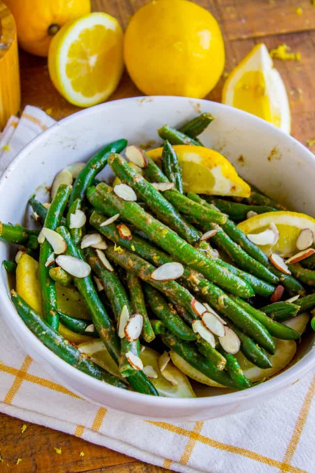 green beans almondine make ahead