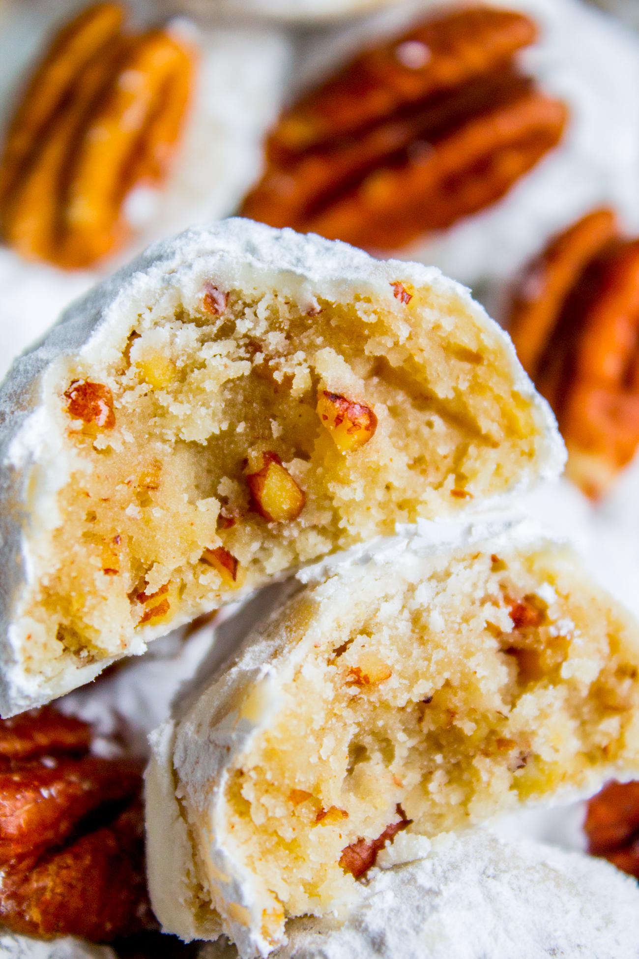 Mexican Wedding Cookies Russian Tea Cakes The Food Charlatan