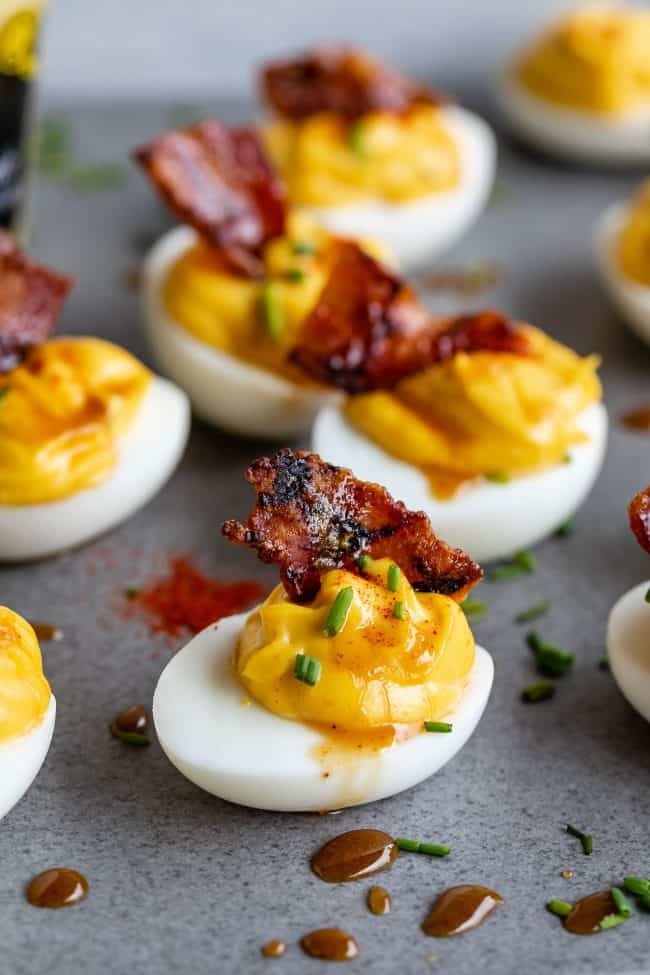 deviled eggs with dijon mustard