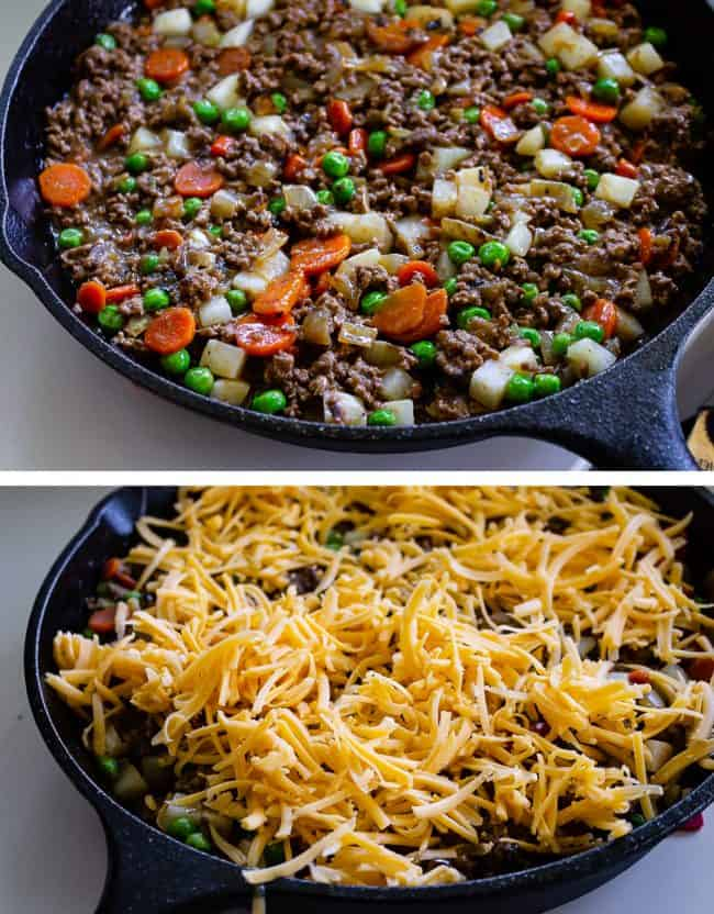 skillet shepherds pie