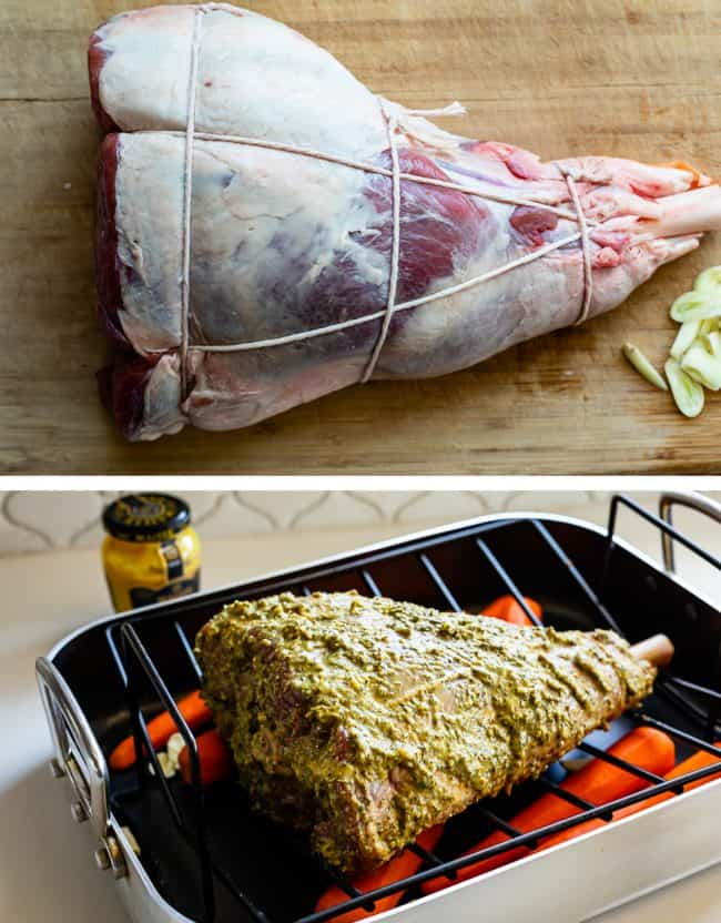 how to cook roast lamb